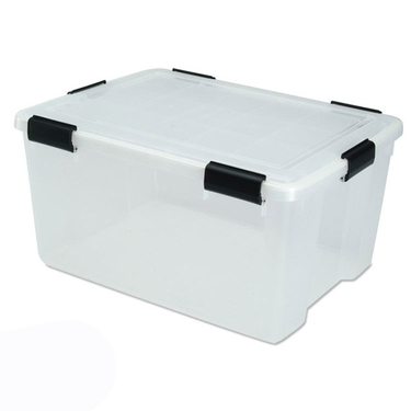 Large Airtight Storage Containers, 62.8 Quart - Pack of 4