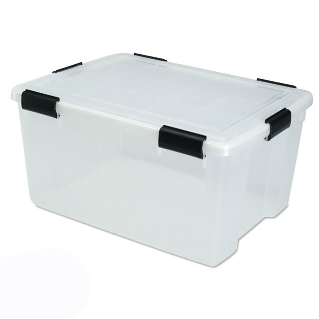 Large Airtight Storage Containers 62.8 Quart - Pack of 4  sc 1 st  Just Plastic Boxes & Large Plastic Storage Containers Boxes u0026 Bins