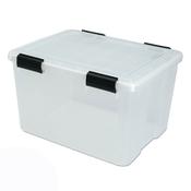 Gentil Iris Airtight Storage Bins, 46.6 Quart   Pack Of 6