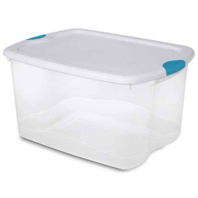 Sterilite 66 Quart Latch Box : 66 Qt Storage Container