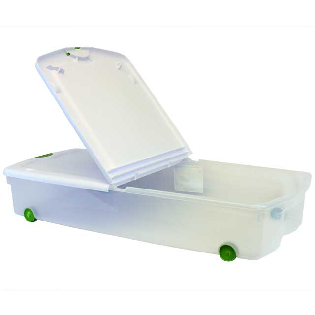 under bed storage boxes with wheeled 3