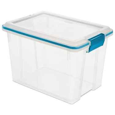 Sterilite Gasket Box, 20 Qt - Pack of 6