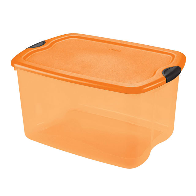 Orange Sterilite Storage Containers