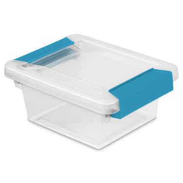 Sterilite Mini Clip Box - Set of 6