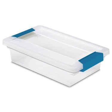 Sterilite Small Clip Box - Set of 6