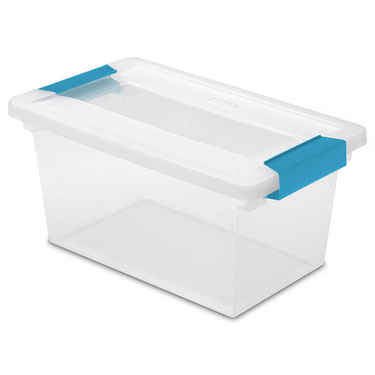 Sterilite Medium Clip Box - Set of 4