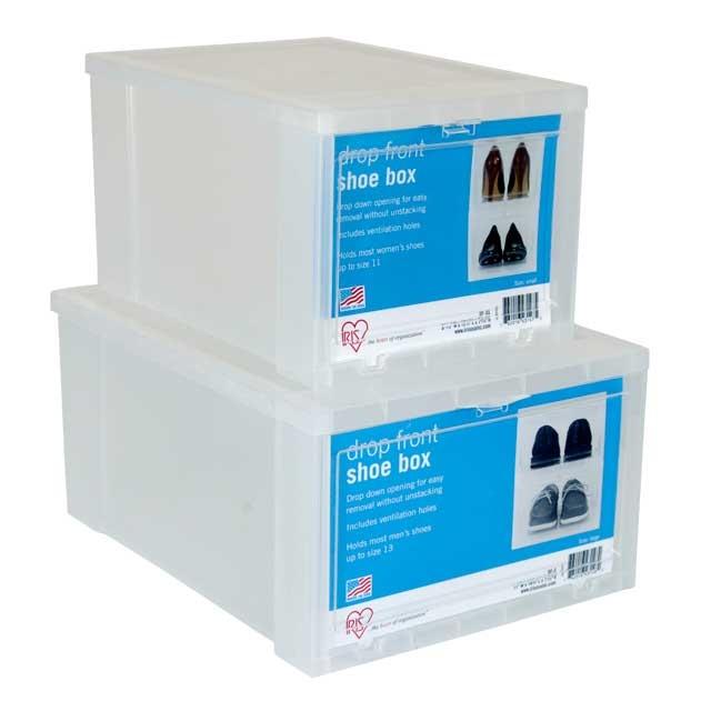 Iris Drop Front Storage Box Designs