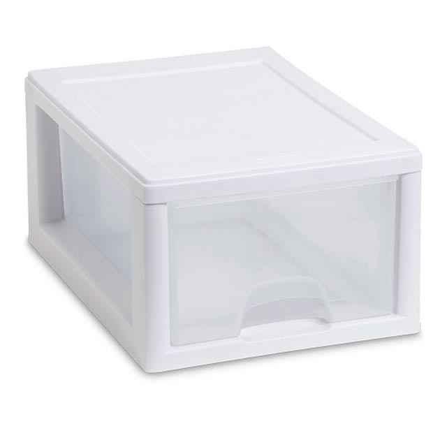 Sterilite Shoe Drawer Set of 6  sc 1 st  Just Plastic Boxes & Sterilite Shoe Drawer Set of 6 : Sterilite Storage Drawers 2051