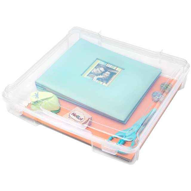 Exceptional Iris Scrapbook Case, 12 X 12   Set Of 6