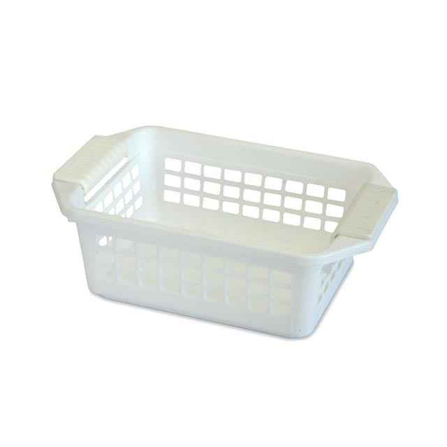 Flip N Stack Small White Baskets Set Of 24