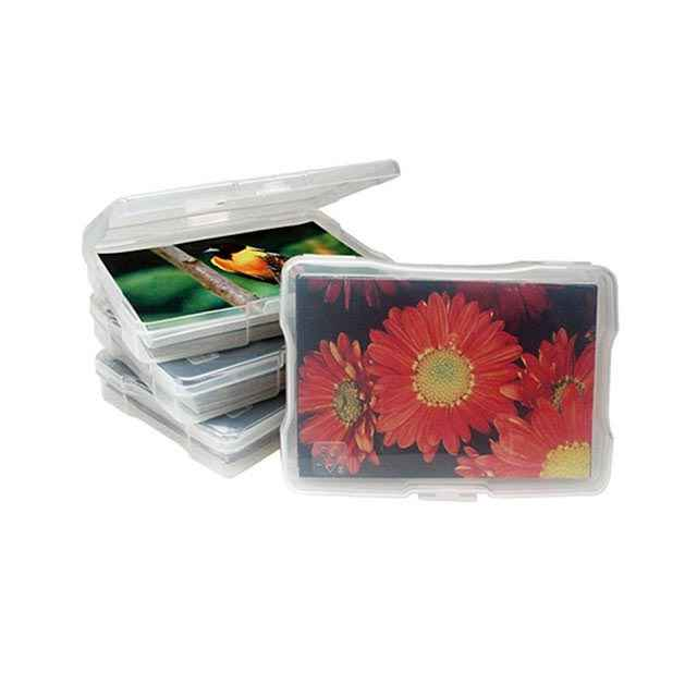 iris photo case 4x6 photo box plastic photo storage boxes