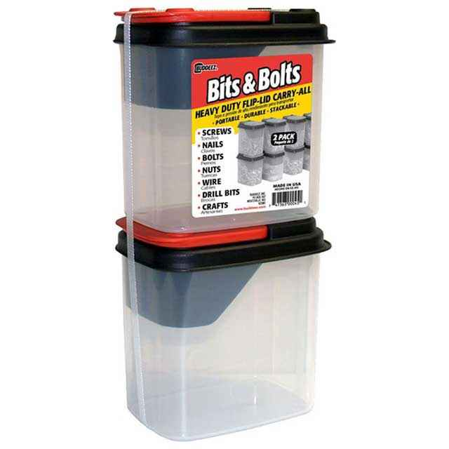 Nuts and Bolts Storage Containers Buddeez Bits and Bolts Dispenser
