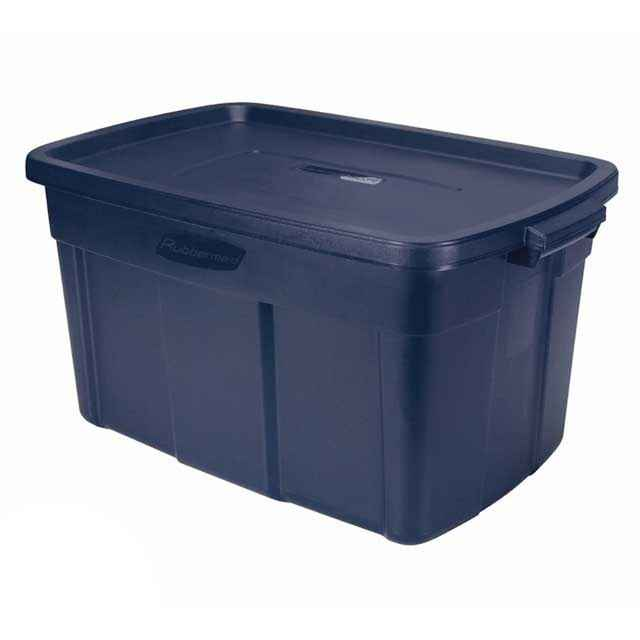 Blue Rubbermaid Roughneck 31 Gallon Storage Boxes : Free Shipping