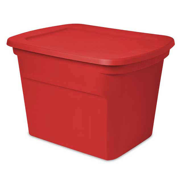 Christmas Storage Boxes, Bins & Containers : Holiday Totes