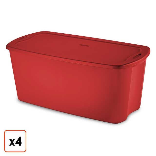 Christmas Storage Boxes Bins Amp Containers Holiday Totes