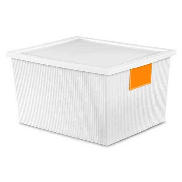 Plastic Storage Boxes By Sterilite 25 Qt Storage Boxes