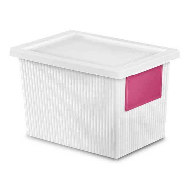plastic storage boxes by sterilite