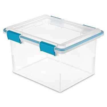 Sterilite Gasket Box, 32 Quart - Pack of 4