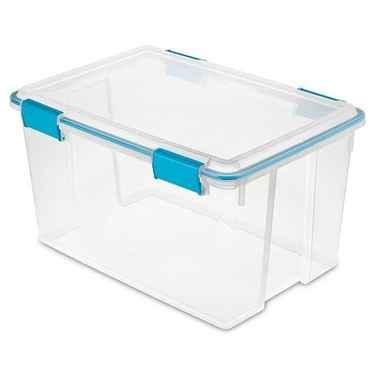 Sterilite Gasket Box, 54 Quart - Pack of 4