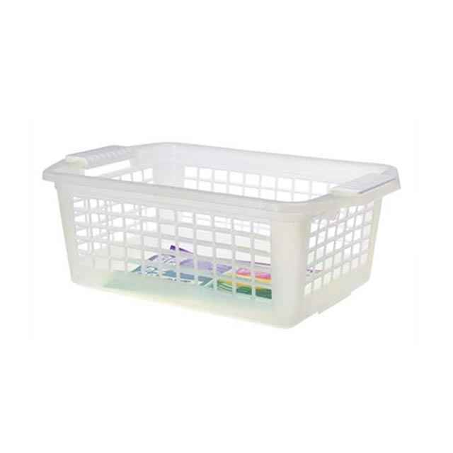 Flip N Stack Small Clear Baskets Set Of 24