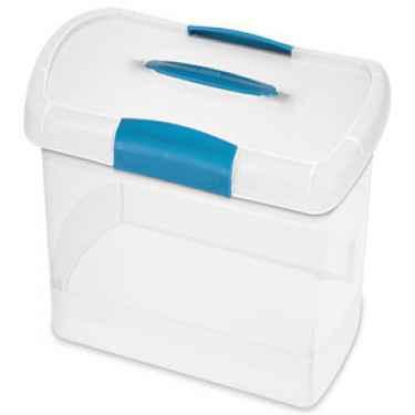 Sterilite Medium Nesting Showoff - Blue Aquarium Accents - Set of 6